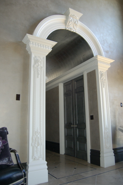 Rwm inc columns interior columns exterior columns full for Decorative archway mouldings