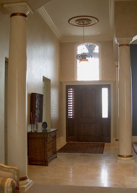 Another View. Interior Pilasters
