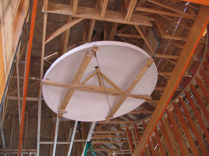 Recent 9 Ceiling Dome Installation