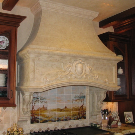 Kitchen Hood Ideas on Kitchen Hood Gypsum   Kitchen Design Photos