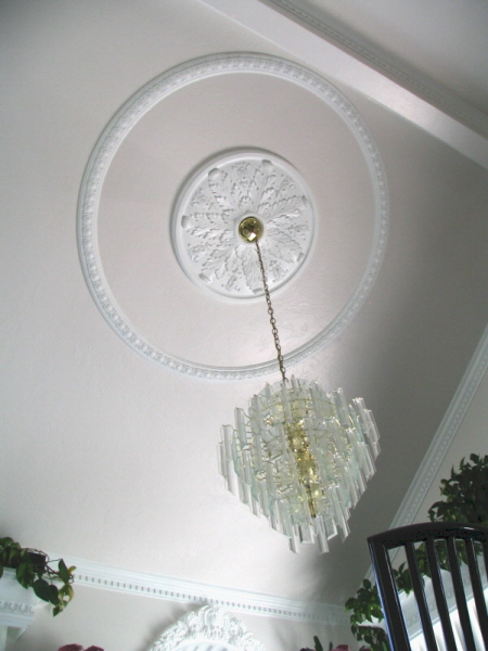 How To Hang Ceiling Medallion On Wall Ceiling Tiles