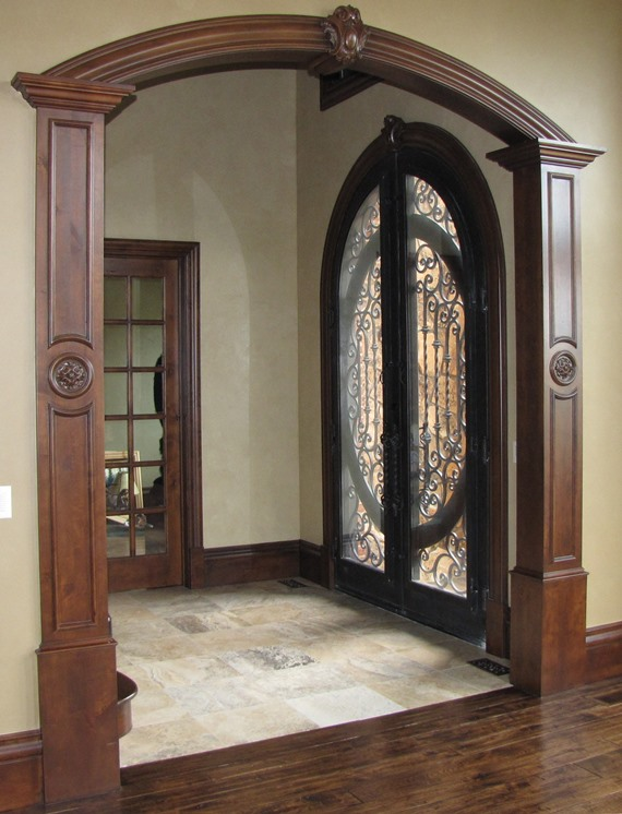 archway with wood faux finish pilasters sold separately with door archway. & Door Archway. Arch Arches Way Archway Keystone Stone Italian Door ...